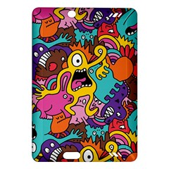 Monster Patterns Amazon Kindle Fire HD (2013) Hardshell Case