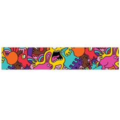 Monster Patterns Flano Scarf (large)