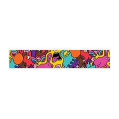 Monster Patterns Flano Scarf (Mini)