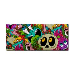 Crazy Illustrations & Funky Monster Pattern Cosmetic Storage Cases