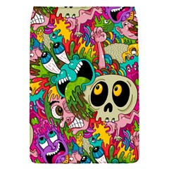 Crazy Illustrations & Funky Monster Pattern Flap Covers (S)
