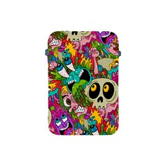 Crazy Illustrations & Funky Monster Pattern Apple Ipad Mini Protective Soft Cases