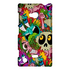 Crazy Illustrations & Funky Monster Pattern Nokia Lumia 720