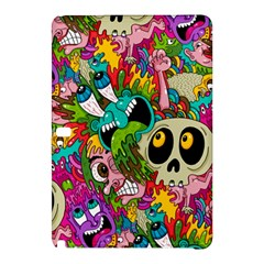Crazy Illustrations & Funky Monster Pattern Samsung Galaxy Tab Pro 12.2 Hardshell Case