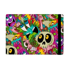 Crazy Illustrations & Funky Monster Pattern iPad Mini 2 Flip Cases