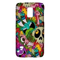 Crazy Illustrations & Funky Monster Pattern Galaxy S5 Mini