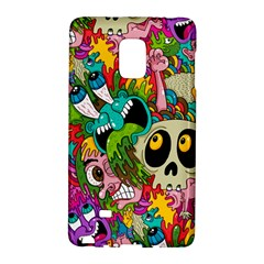 Crazy Illustrations & Funky Monster Pattern Galaxy Note Edge