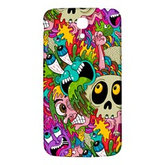 Crazy Illustrations & Funky Monster Pattern Samsung Galaxy Mega I9200 Hardshell Back Case