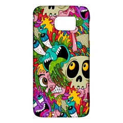 Crazy Illustrations & Funky Monster Pattern Galaxy S6
