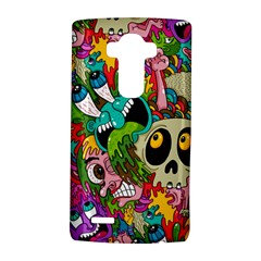 Crazy Illustrations & Funky Monster Pattern LG G4 Hardshell Case