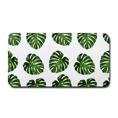 Leaf Pattern Seamless Background Medium Bar Mats