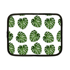 Leaf Pattern Seamless Background Netbook Case (Small)