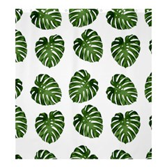 Leaf Pattern Seamless Background Shower Curtain 66  x 72  (Large)