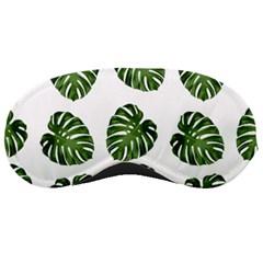 Leaf Pattern Seamless Background Sleeping Masks