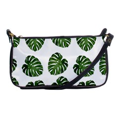 Leaf Pattern Seamless Background Shoulder Clutch Bags