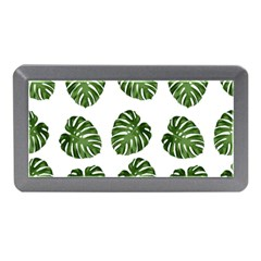 Leaf Pattern Seamless Background Memory Card Reader (mini)