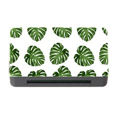 Leaf Pattern Seamless Background Memory Card Reader with CF