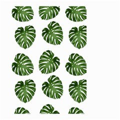 Leaf Pattern Seamless Background Small Garden Flag (two Sides)