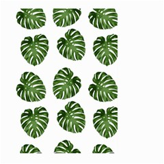 Leaf Pattern Seamless Background Large Garden Flag (two Sides)