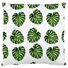 Leaf Pattern Seamless Background Large Cushion Case (two Sides)