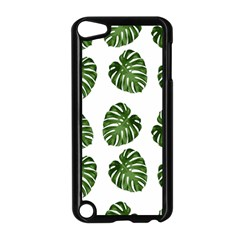 Leaf Pattern Seamless Background Apple Ipod Touch 5 Case (black)