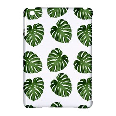 Leaf Pattern Seamless Background Apple Ipad Mini Hardshell Case (compatible With Smart Cover)