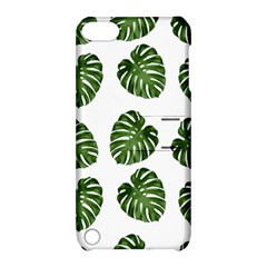 Leaf Pattern Seamless Background Apple iPod Touch 5 Hardshell Case with Stand