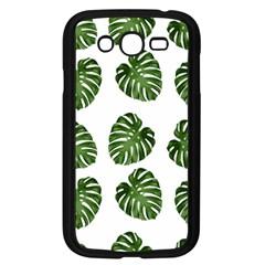 Leaf Pattern Seamless Background Samsung Galaxy Grand Duos I9082 Case (black)