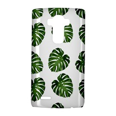 Leaf Pattern Seamless Background LG G4 Hardshell Case