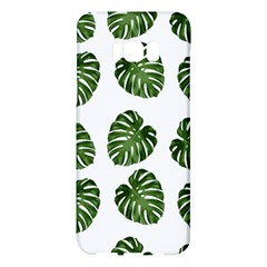Leaf Pattern Seamless Background Samsung Galaxy S8 Plus Hardshell Case