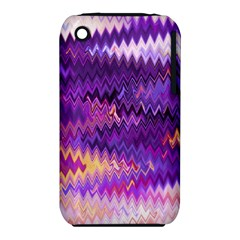 Purple And Yellow Zig Zag iPhone 3S/3GS