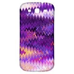 Purple And Yellow Zig Zag Samsung Galaxy S3 S Iii Classic Hardshell Back Case