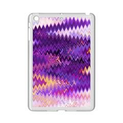 Purple And Yellow Zig Zag Ipad Mini 2 Enamel Coated Cases