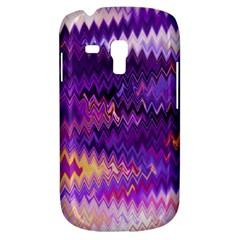 Purple And Yellow Zig Zag Galaxy S3 Mini