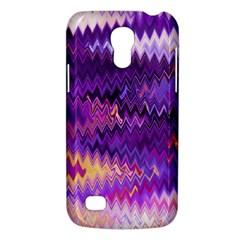 Purple And Yellow Zig Zag Galaxy S4 Mini