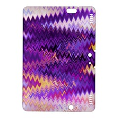 Purple And Yellow Zig Zag Kindle Fire HDX 8.9  Hardshell Case
