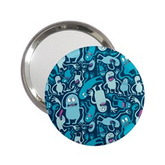 Monster Pattern 2 25  Handbag Mirrors