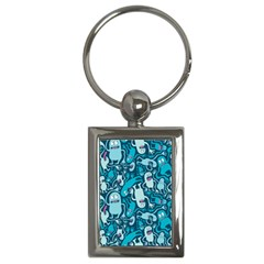 Monster Pattern Key Chains (Rectangle)