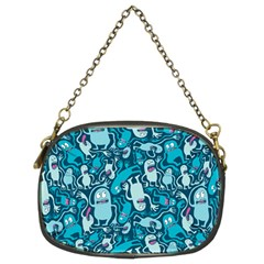Monster Pattern Chain Purses (two Sides)