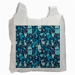 Monster Pattern Recycle Bag (two Side)