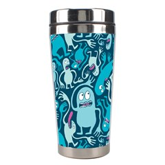 Monster Pattern Stainless Steel Travel Tumblers