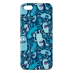 Monster Pattern Iphone 5s/ Se Premium Hardshell Case