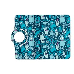 Monster Pattern Kindle Fire Hd (2013) Flip 360 Case