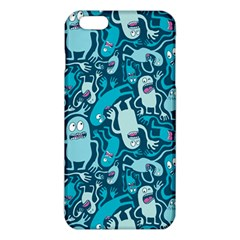 Monster Pattern iPhone 6 Plus/6S Plus TPU Case