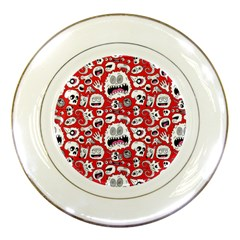 Another Monster Pattern Porcelain Plates
