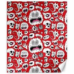 Another Monster Pattern Canvas 8  X 10