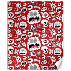 Another Monster Pattern Canvas 16  x 20