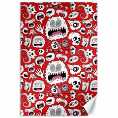 Another Monster Pattern Canvas 20  X 30