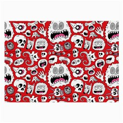 Another Monster Pattern Large Glasses Cloth (2-Side)