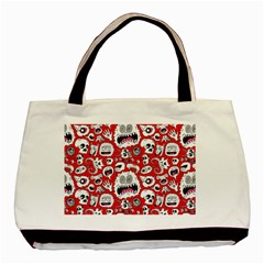 Another Monster Pattern Basic Tote Bag (two Sides)